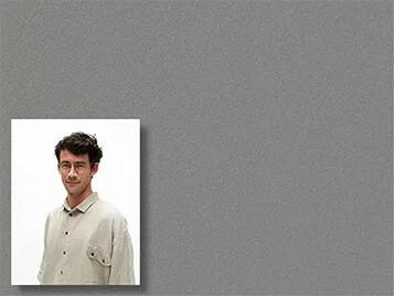 Revêtement d'affichage mural linoléum, Sjaak Hullekes portrait | Forbo Flooring Systems