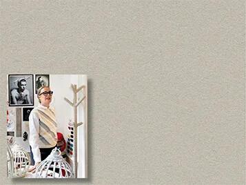 Revêtement d'affichage mural linoléum, Anne-Claire Petit portrait | Forbo Flooring Systems