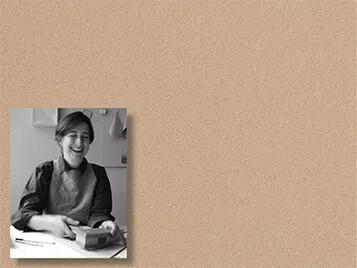 Revêtement d'affichage mural, linoléum, Petra de Valk portrait | Forbo Flooring Systems