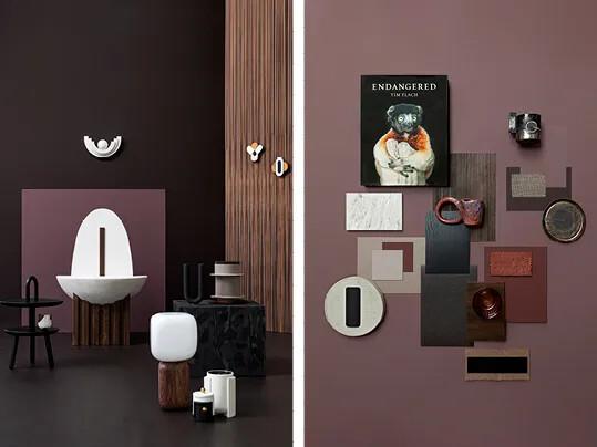 Trend 2021 Marmoleum Dark Chocolate