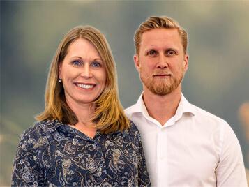 Camilla Söderlund & Erik Öhrnegård, Key Account Managers, Sverige