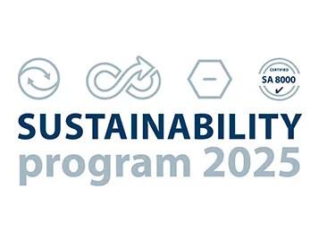 programme de durabilité 2025