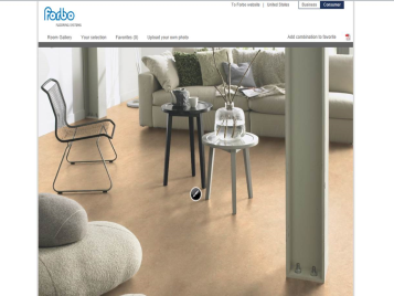 Forbo's online room planner