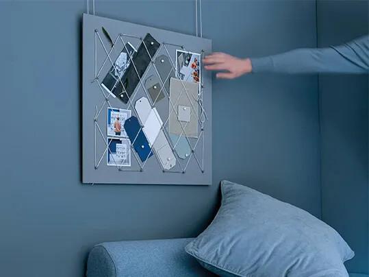 Blauw prikbord met inspiratie van Thomas Eurlings
