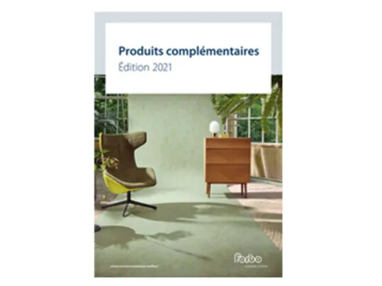 Revêtements de sol, Catalogue produits complémentaires édition 2021 | Forbo Flooring Systems
