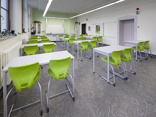 Vinylboden in der Schliebenschule Zittau
