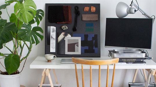 0.36 m² Bulletin Board