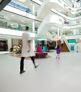 Design in Healthcare flooring