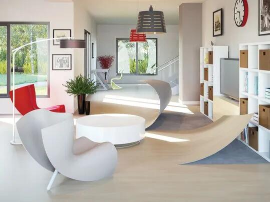Revêtement de sol, Modul'up environnement | Forbo Flooring Systems