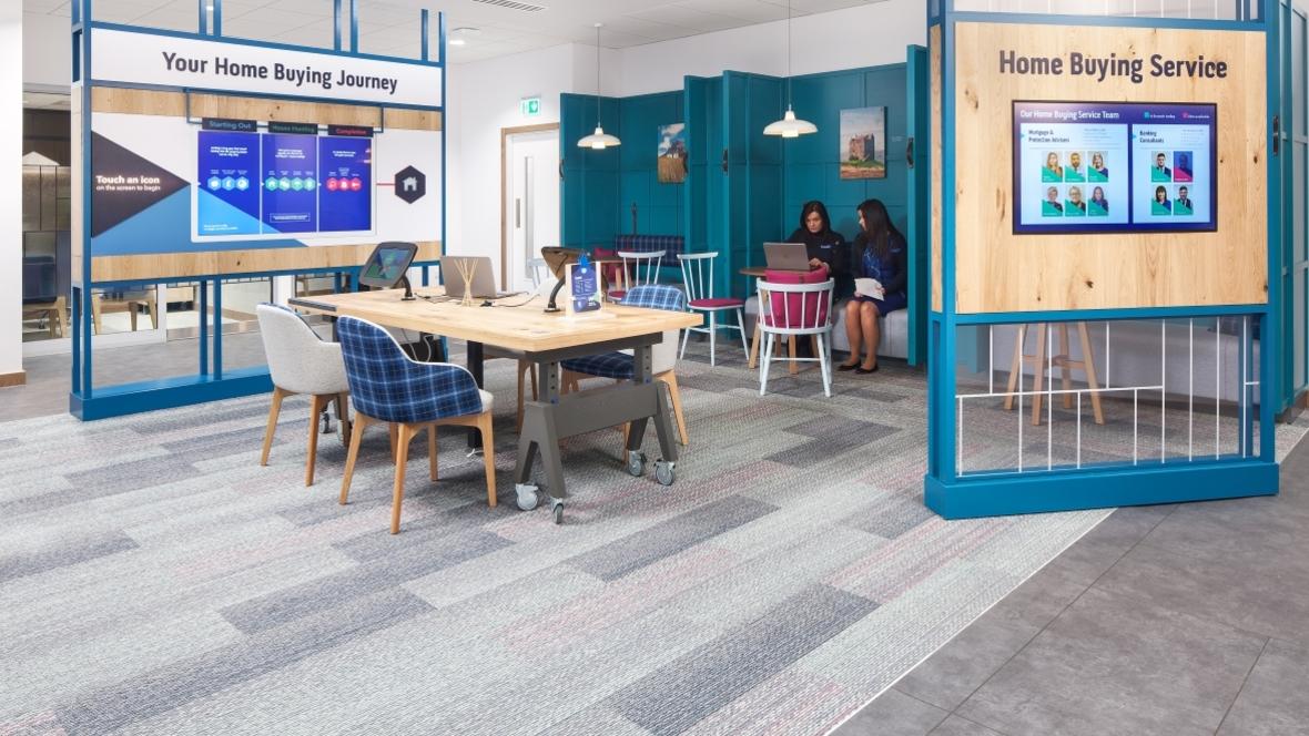 Bank of Scotland Flagship | Tessera Intouch + Allura Stone