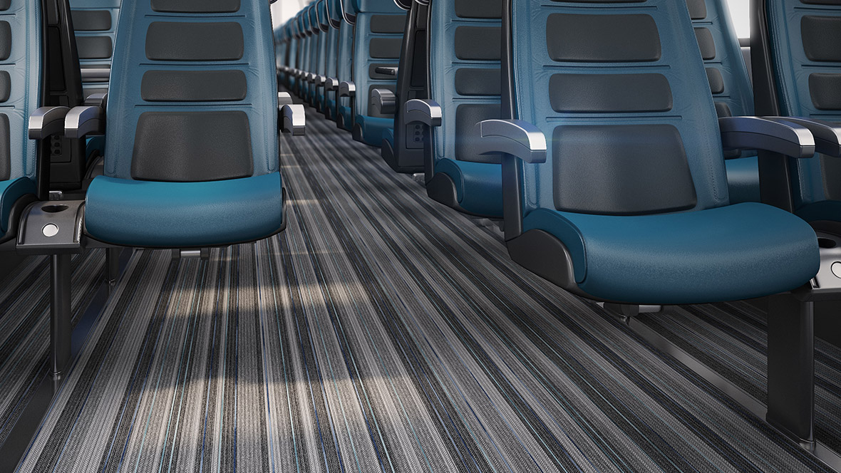 Rail floor & wall coverings