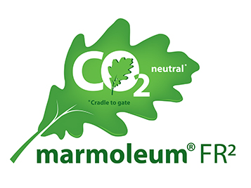 Marmoleum FR2 CO2 neutral from cradle to gate