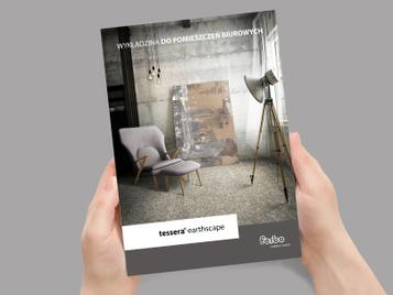 broszura wykładziny okładka -Tessera-Eartscape