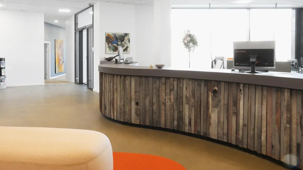 AAB Silkeborg - Furniture Linoleum