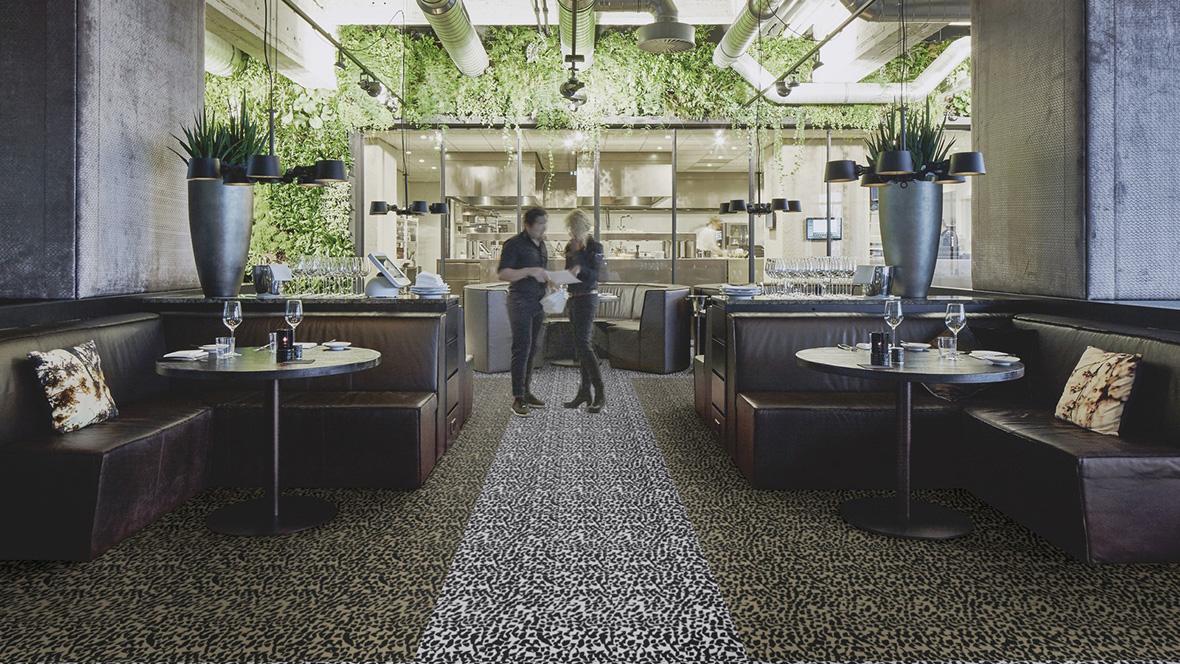 Revêtement de sol textile personnalisé Flotex Geometric/Graphic - Quartz | Forbo Flooring Systems