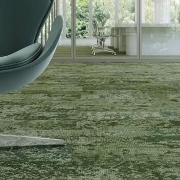 Revêtement de sol textile en lames Flotex montage | Forbo Flooring Systems