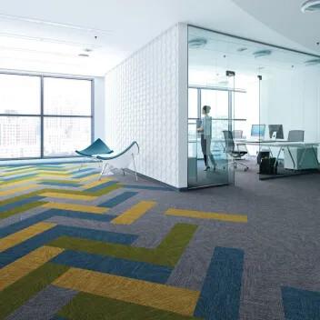 Revêtement de sol lames textiles Flotex frameweave | Forbo Flooring Systems
