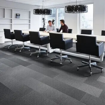Revêtement de sol textile en lames Flotex box-cross | Forbo Flooring Systems