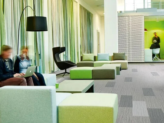 Flotex Planks Seagrass in study area