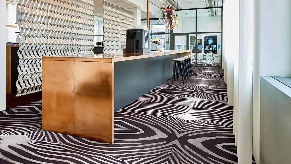 Revêtement de sol textile floqué - Flotex vision Zebra