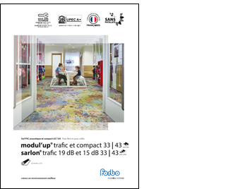 Book Revêtement de sol PVC compact Modul'up compact 2021 | Forbo Flooring Systems