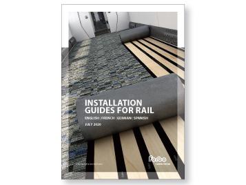 Rail installation guide