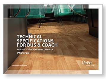 Bus & Coach technical specifications brochure