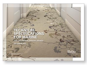 Marine flooring  technical specifications