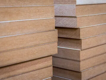 MDF wood boards