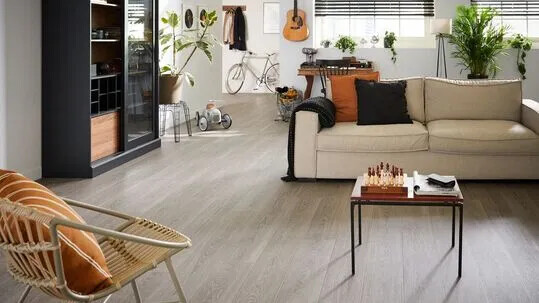 Novilon Viva 5443 grey timber