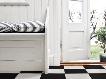 Novilon Scandinavia 6381 Ruta Black white