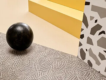 Sarlon | Modul'up 2021 223 sand canyon & 409 black & white doodle