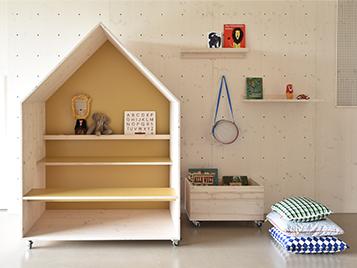 Forbo_Kinder-Familienzentrum_Spielbereich mit Linoleum