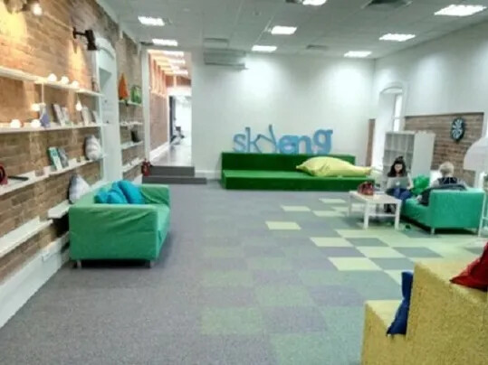 Офис Skyeng_полы