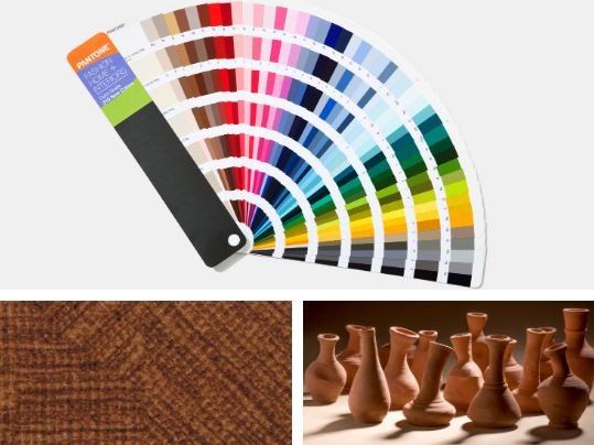Pantone Terracotta Trend Montage
