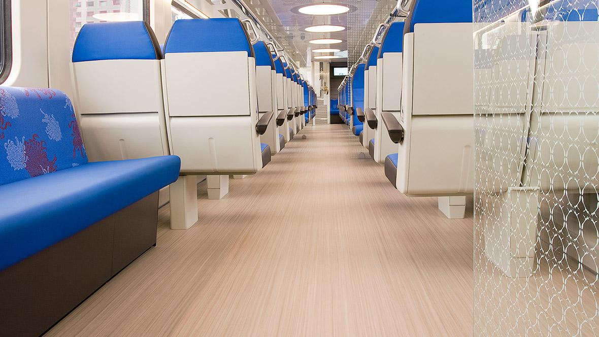 Dutch railways NS | 5217 whithered prairie