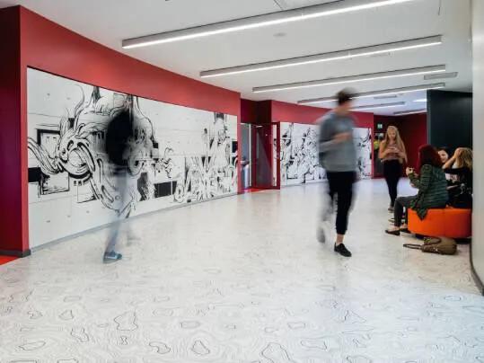 school corridor | 433910 Sarlon Topography white