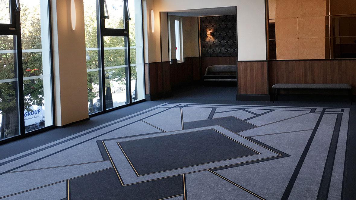 Operaims cinema_Flotex custom flooring