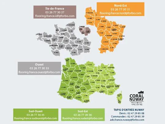 Revêtements de sol service client équipes locales | Forbo Flooring Systems France