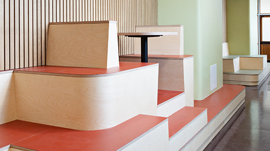 Interior marmoleum 3352