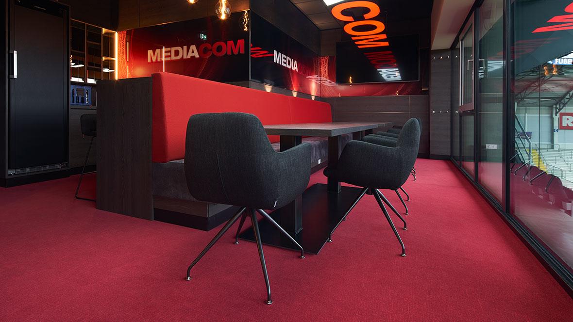 SC Paderborn - Media Lounge
