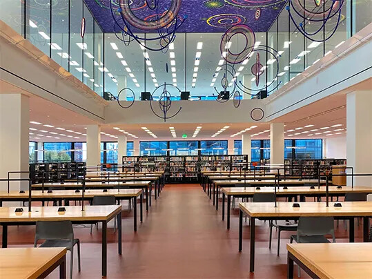 Martin Luther King Jr. Memorial Library | The grand reading room