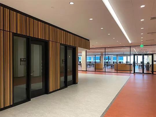Jr. Memorial Library | The hallway