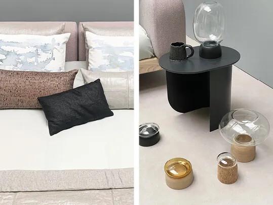 Trendblog Zenzucht - slaapkamer novilon viva beton