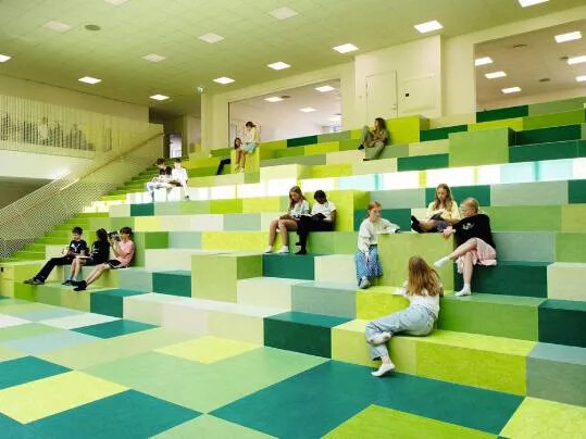 Neuroscience in indoor spaces | Darlby Skole | Photography: Anette Roien / Niels Rosenvold