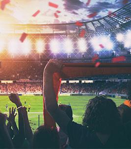 Fussball Stadion - Foto: AdobeStock