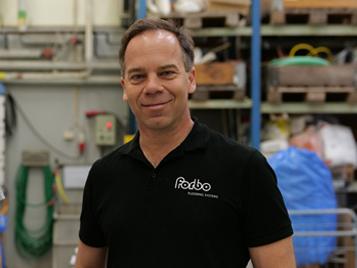 Jonas Rothén, hållbarhetsansvarig Forbo Flooring