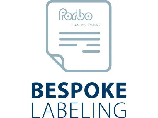 Bespoke labeling icon