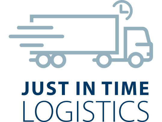 Just in time logistics icon