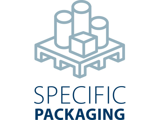 Specific packaging icon